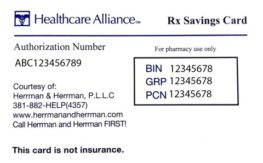 RX savings card