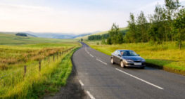 dangerous rural road
