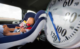 baby inside hot car