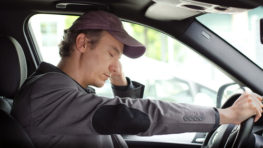 Semi Truck Driver Fatigue