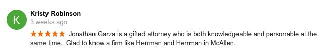 testimonial mcallen lawyer