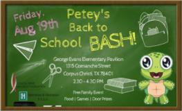 peteys back to school bash