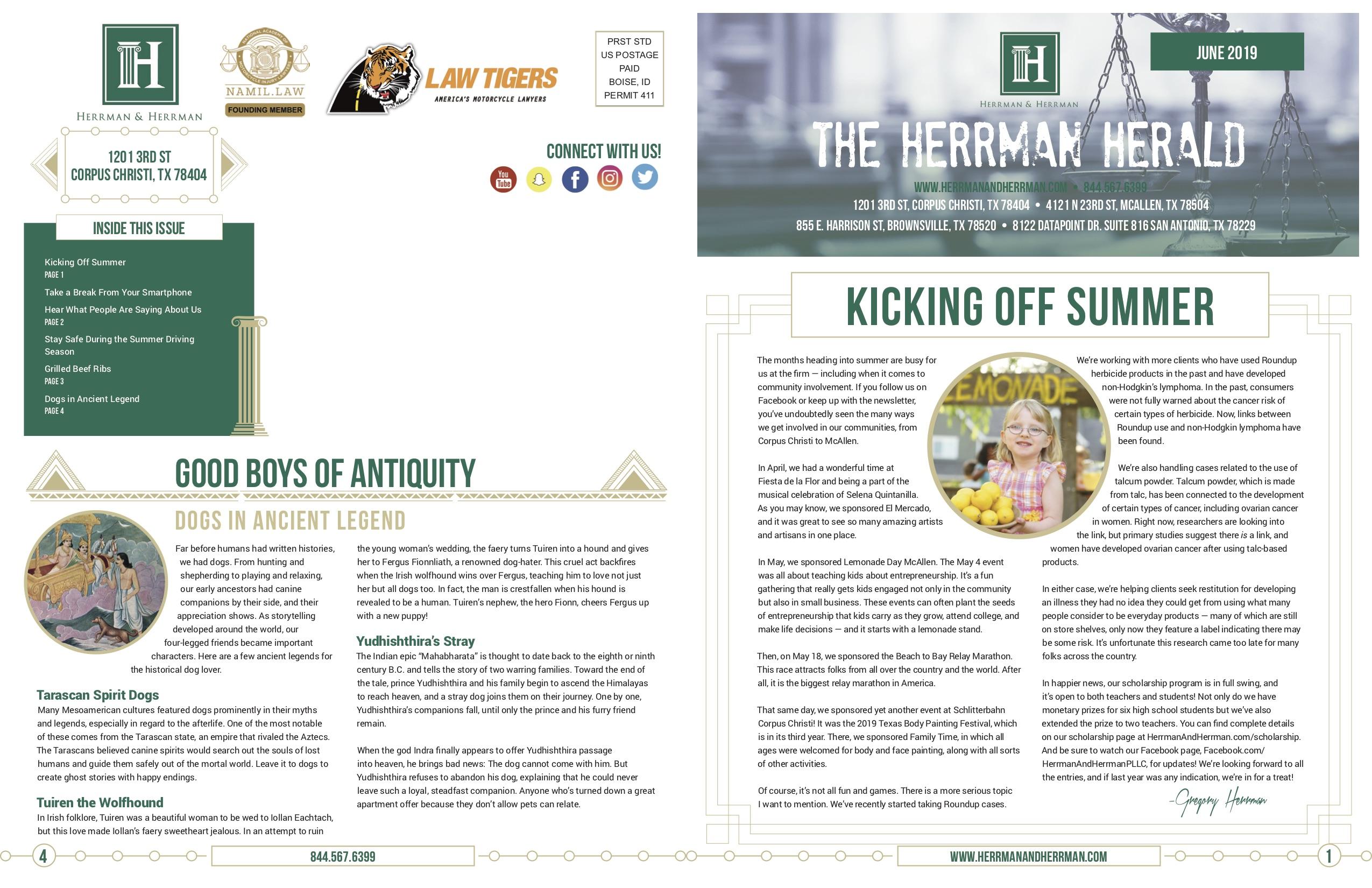 Herrman June Newsletter