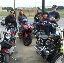 janet Peña, san antonio motorcycle lawyer, biker family, harley davidson san antonio