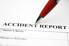filing a car accident report