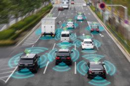 Autonomous vehicles on the road