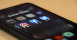 social media networks on a mobile phone