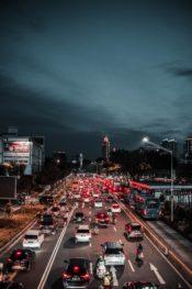 Intersección de alto tráfico de Brownsville