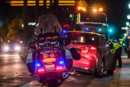 motorcycle accident involving another car