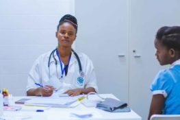 doctor reviewing medical malpractice