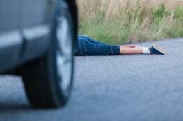 Accidente de choque y fuga