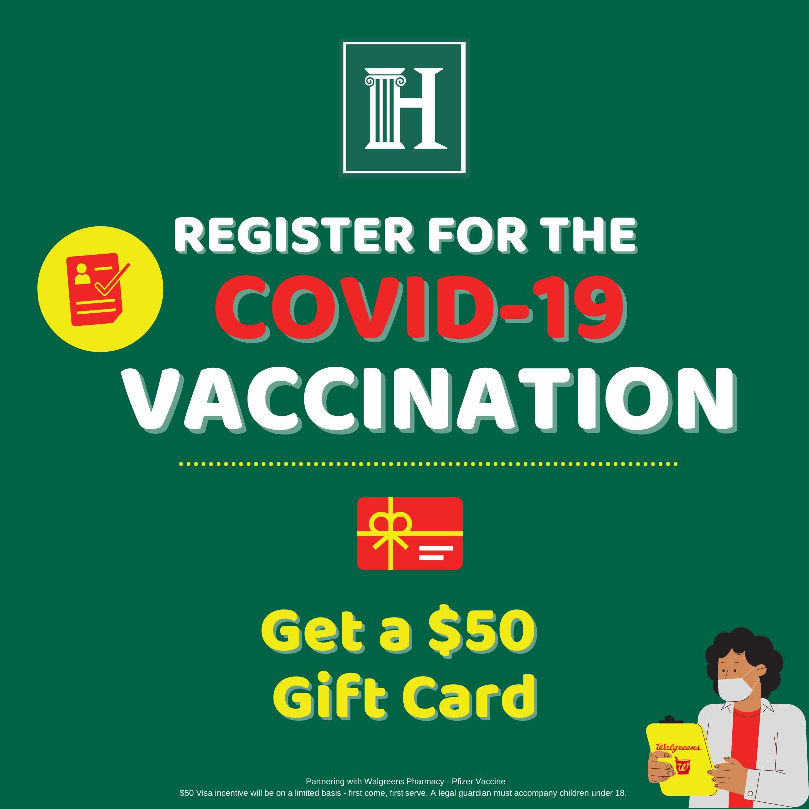 covid 19 vaccination event
